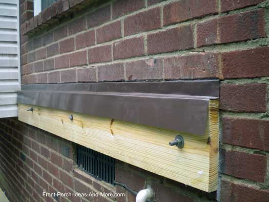 Brick Flashing Ledger Flashing Install Flashing