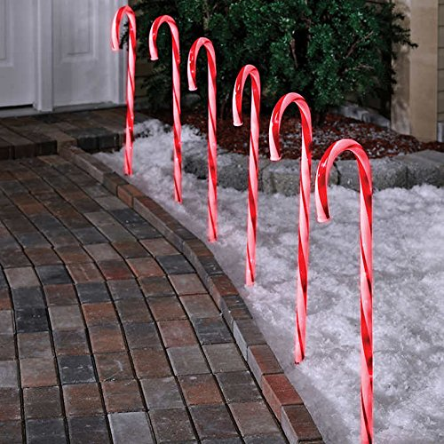 Lighted Outdoor Christmas Decorations and Ideas Adorable Candy Cane Yard Decorations