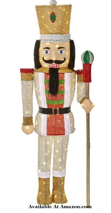 65 inch tall lighted nutcracker