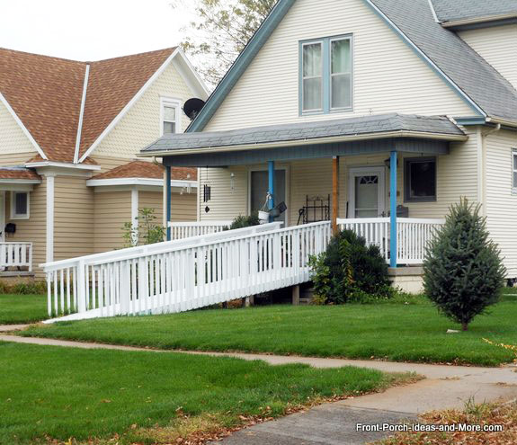 Wheelchair Access Front Door: Wheelchair Ramp Design Specs For A More Accessible Porch