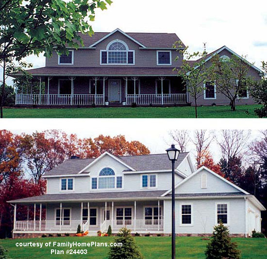 House plans with porches house plans online wrap for House plans with dormers and front porch