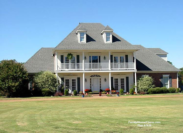 More expensive home from Family Home Plans #67309