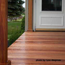 mahogany porch flooring