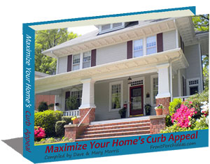 Get our online newsletter Front Porch Appeal and our awesome curb appeal eBook as a free bonus