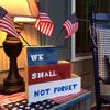 we shall not forget porch decoration for memorial day