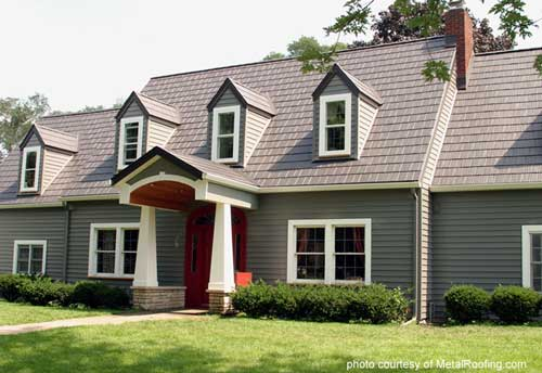 Roof Design Ideas: A Metal Porch Roof Adds Immediate Beauty And Value To Your