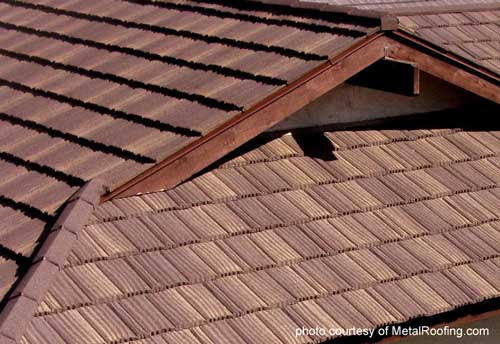 Metal Porch Roof - shakes