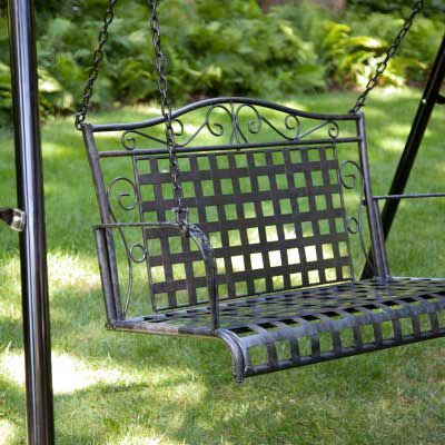 Woodwork Metal Porch Swing Plans PDF Plans