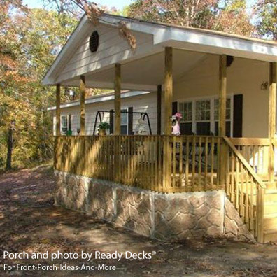 Podcast 9 Porch Ideas For Mobile Homes