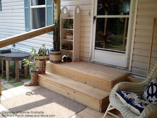 mobile home porches. Black Bedroom Furniture Sets. Home Design Ideas