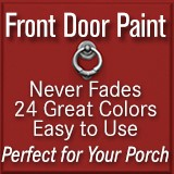 Give your front door a fresh new look with Front Door Paint by Modern Masters