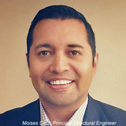 structural engineer Moises Cruz