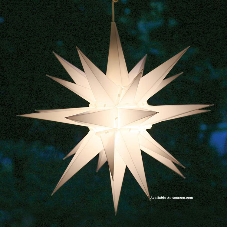 Morovian porch star