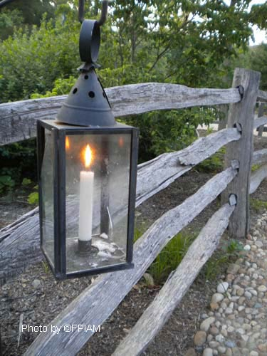 Mount Vernon VA Charming lantern at the George Washington home