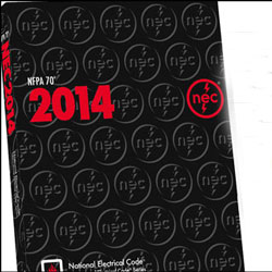 cover of the NEC 2014 Electrical code book