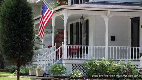 All American Country Porch