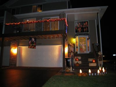 Our Halloween and Autumn Porch 2011