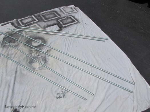 Traci's handmade outdoor curtain panels