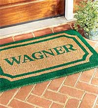 example of outdoor door mats