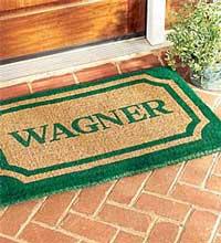example of outdoor door mats