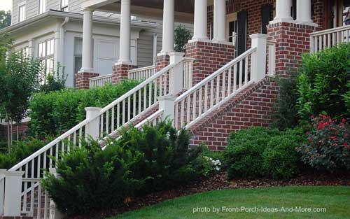Beautiful long stair rail
