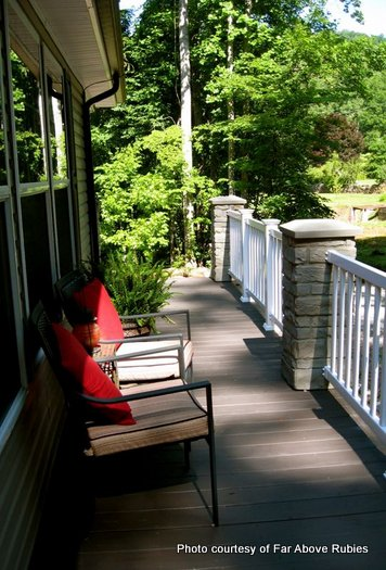 Anita's summer porches