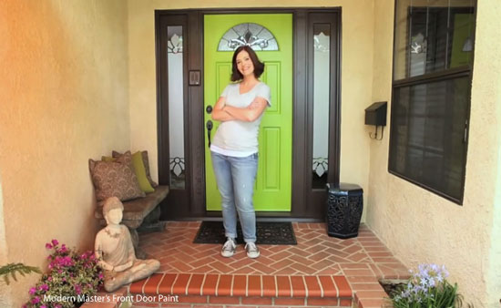 Painted Front Door front door paint colors and how to paint an exterior door