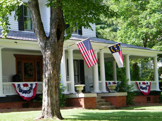 patriotic pictures - buntings and flags