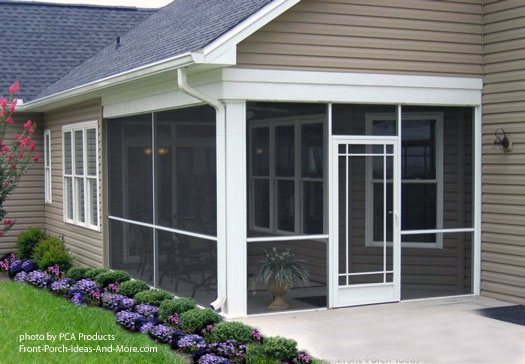 Sliding Screen Door Porch use your aluminum screen door to maximize curb appeal