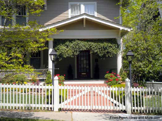 Curb appealing picket fence