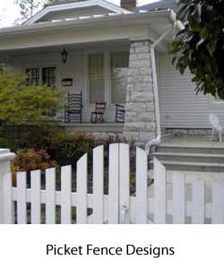 photo link to fence designs