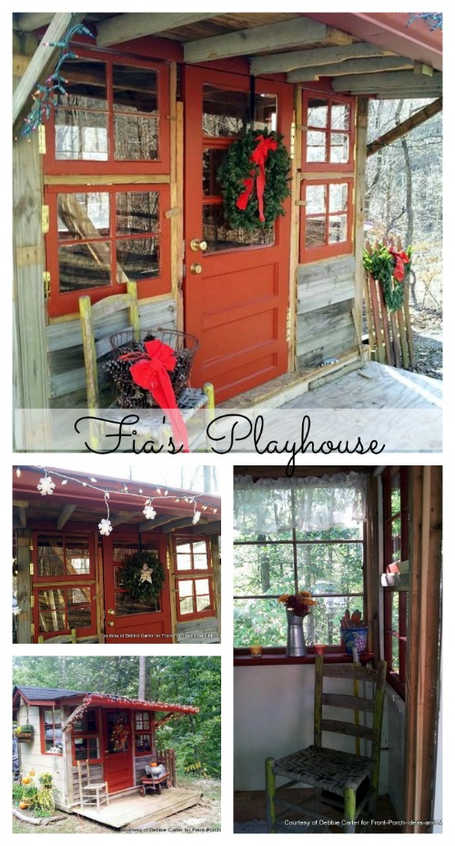 Fia's playhouse collage