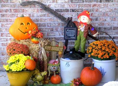 Plow and Pumpkins ~ A Celebration of the Harvest