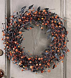 berry wreath