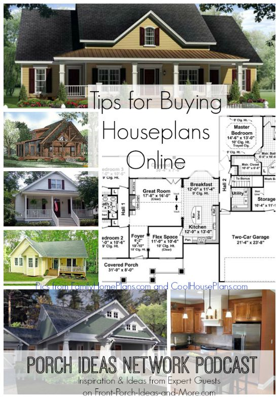 Podcast House Plans OnlinePodcast tips for buying house plans online