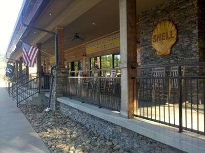 Porch near Ashland City
