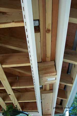 Kleer PVC for the beam - comes in longer lengths