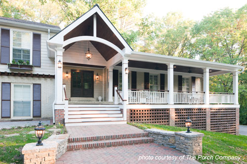 wonderfully designed front porch a pleasing porch design