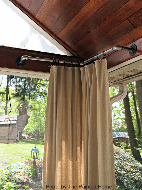 Outdoor Curtains Curtain Panels Porch