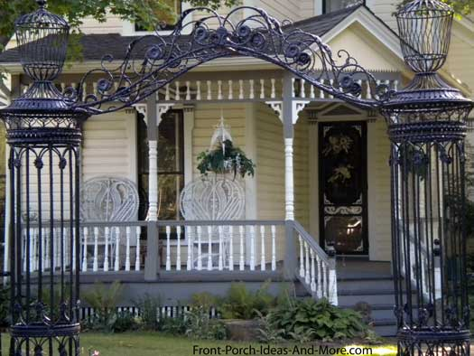 Porch Design With Victorian Appeal Photo