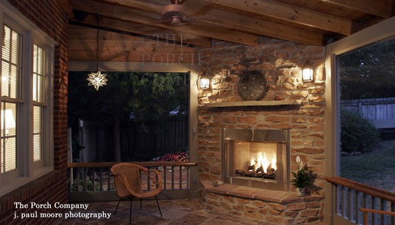 On this audio program, our guest, Zach Watson, gives you tips for installing an outdoor fireplace or outdoor kitchen on your porch or deck.