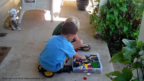 porch games - legos