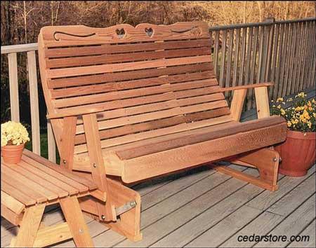 outdoor furniture glider wicker glider porch gliders