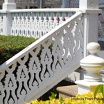 victorian style porch railings