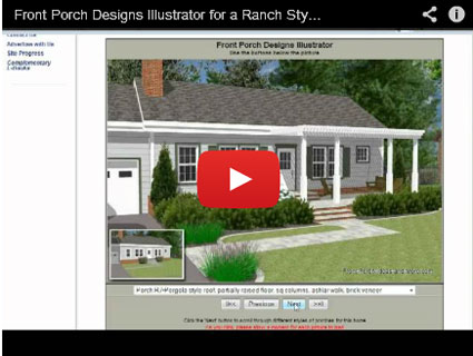 picture of our front porch design tool