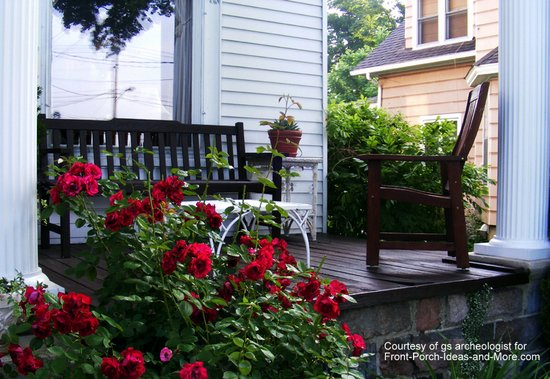 Landscaping Front Porch Ideas : Porch landscaping ideas on a country