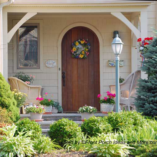Front Entrance Garden Design Ideas: Porch Landscaping Ideas For Your Front Yard And More