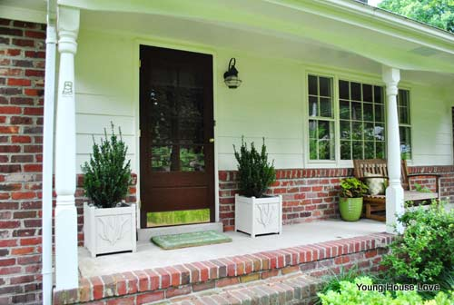 Porch Makeover Porch Flooring Porch Floor - Front porch makeover ideas