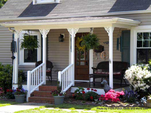Front porch pictures front porch ideas pictures of porches for Small outdoor porch ideas