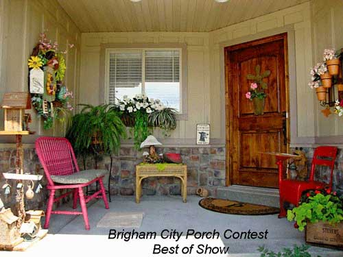 Brigham City Utah Porch Contest Best of Show